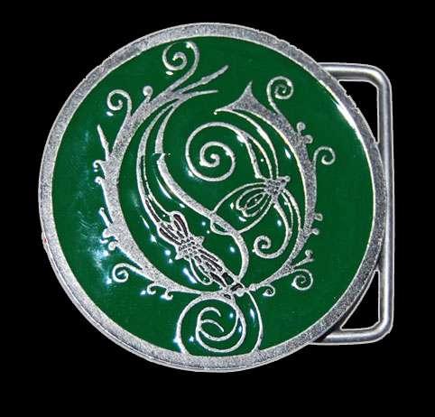 Opeth - Green Logo Belt Buckle - Opeth