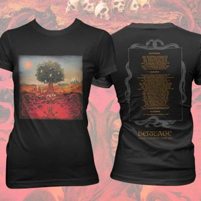 Opeth - Heritage Tour Fitted T-Shirt - Opeth