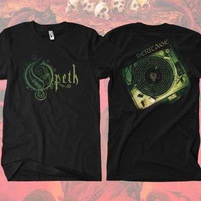 Opeth - 'Heritage' Vinyl T-Shirt - Opeth