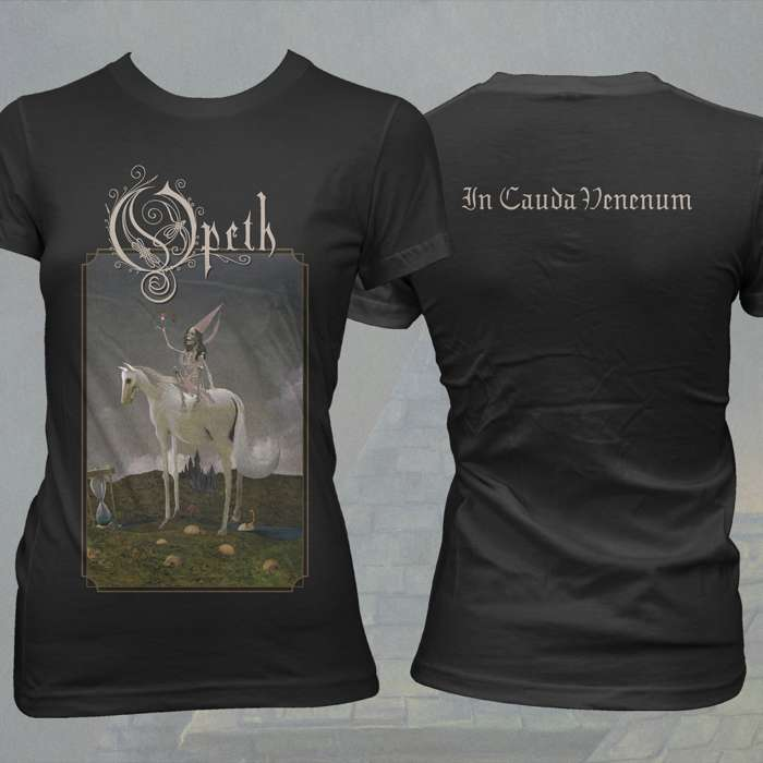 Opeth - 'Horse' Girls Fitted T-Shirt - Opeth