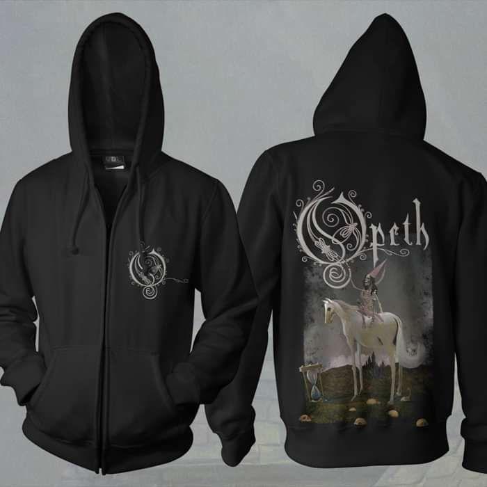 Opeth - 'Horse' Zip Hoody - Opeth