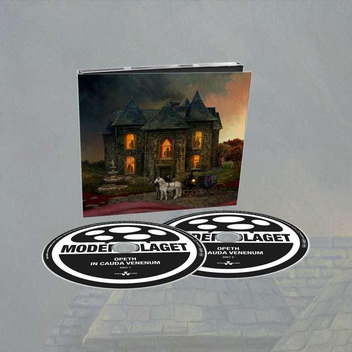 Opeth - 'In Cauda Venenum' 2CD Digipack + FREE SIGNED POSTCARD - Opeth