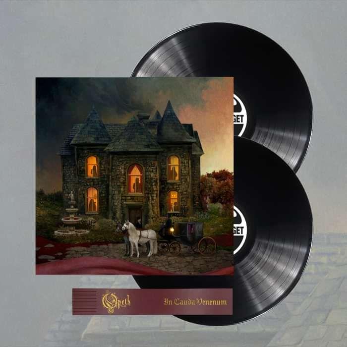 Opeth - 'In Cauda Venenum' English Edition 2LP Black Vinyl - Opeth