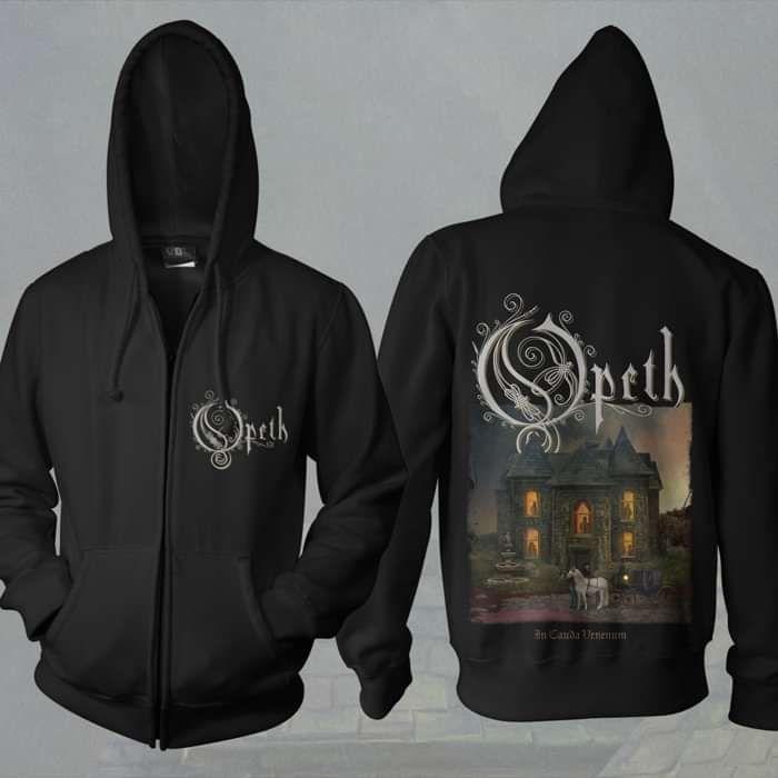 Opeth - 'In Cauda Venenum' Zip Hoody - Opeth