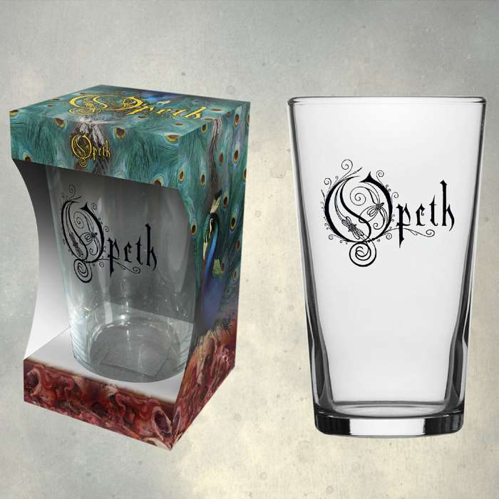 Opeth - 'Logo' Beer Glass - Opeth
