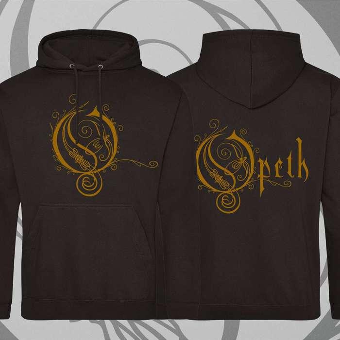 Opeth - 'Logo' Black Pullover Hoody - Opeth