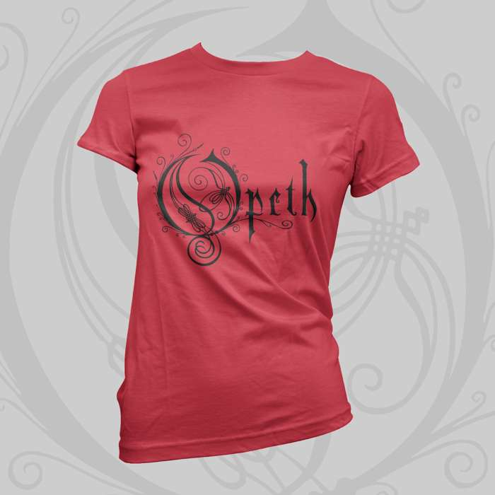 Opeth -  'Logo' Fitted T-Shirt - Opeth