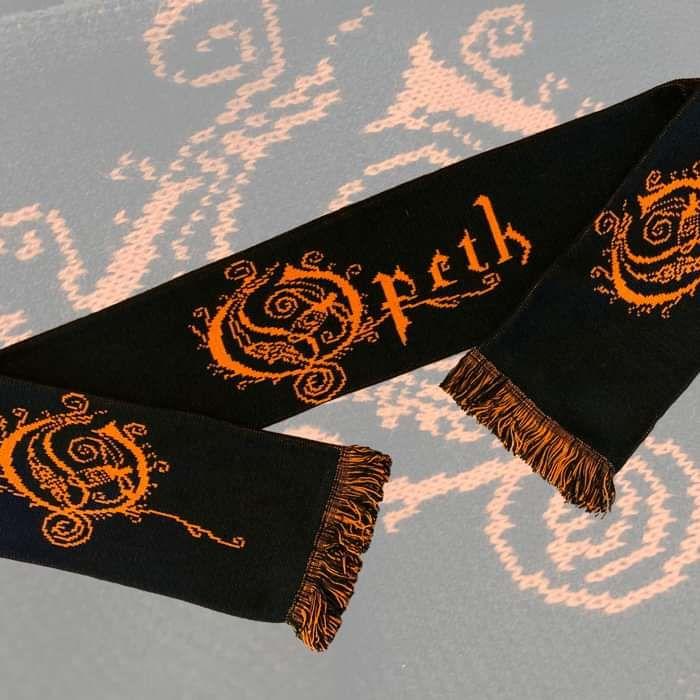 Opeth - 'Logo' Jacquard Scarf - Opeth