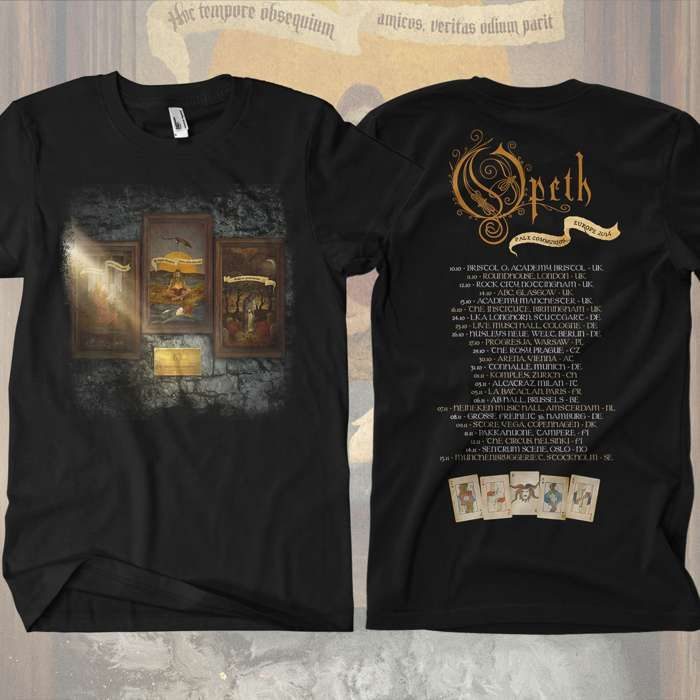 Opeth - 'Pale Communion Tour' T-Shirt - Opeth