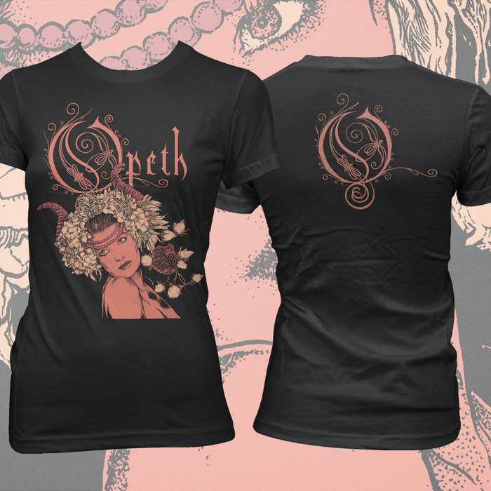 Opeth - 'Persephone' Fitted T-Shirt - Opeth
