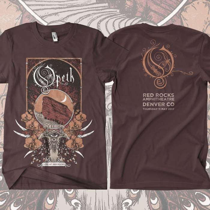 Opeth - 'Red Rocks' T-Shirt - Opeth