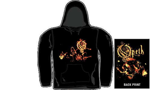 Opeth - Roundhouse Tapes DVD Hooded Top - Opeth