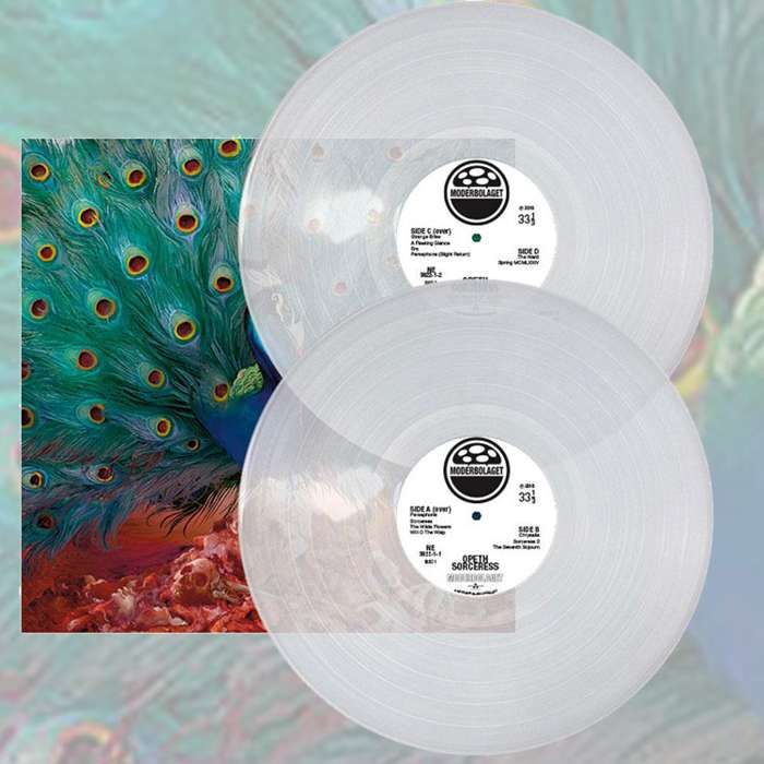 Opeth - 'Sorceress' Clear 2LP - Opeth