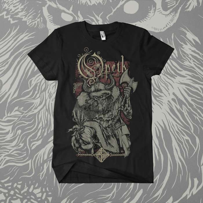 Opeth - 'Viking' T-Shirt - Opeth