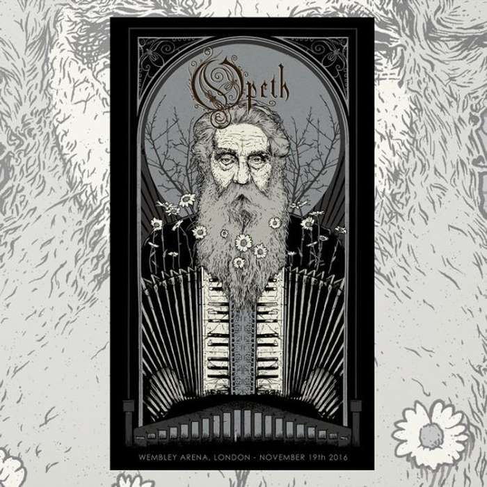Opeth - Wembley Poster - Opeth
