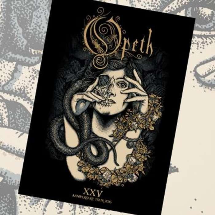 Opeth - XXV Tour Poster - Opeth