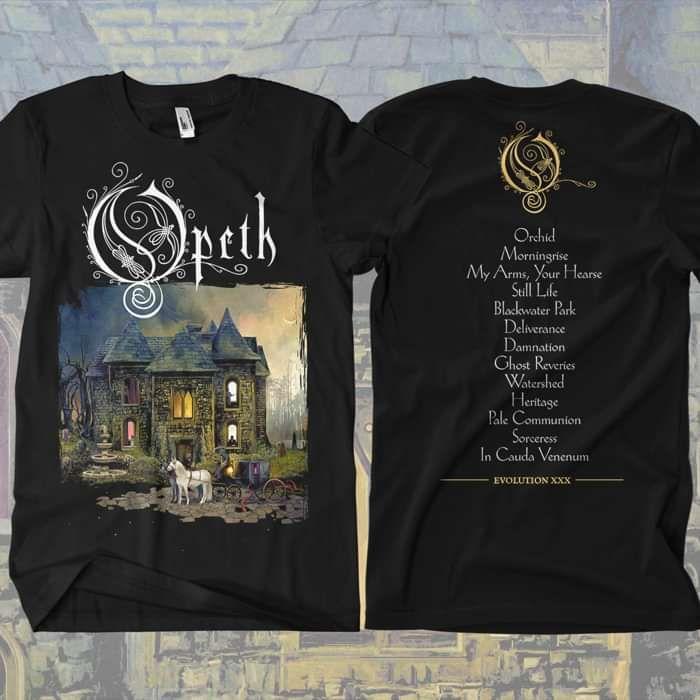 Opeth - 'XXX Anniversary' T-Shirt - Opeth
