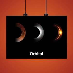 Exclusive 2017 Limited Edition Art Print- SIGNED - ORBITAL LIVE