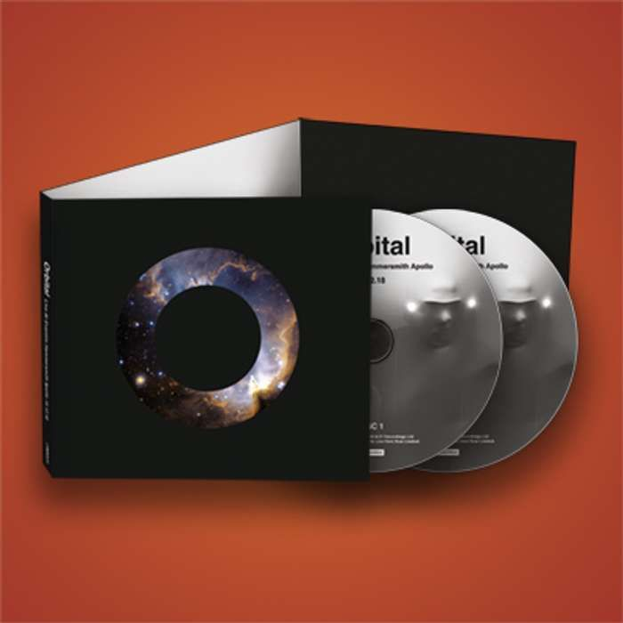 Live At Eventim Hammersmith Apollo 15.12.18 -  2CD (Inc free download) - ORBITAL LIVE