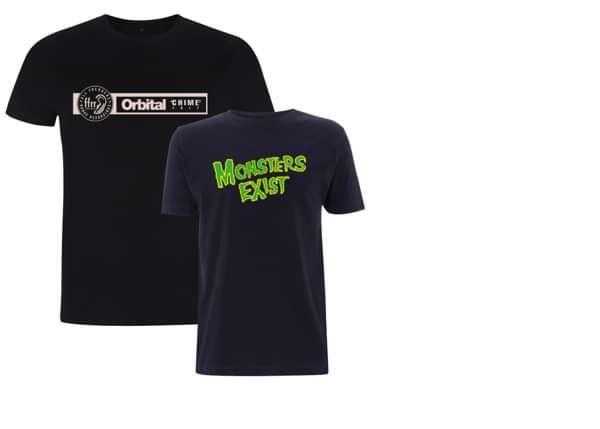 2 for 1 Deal: Black Chime T-Shirt & Navy Misfits T-Shirt - Orbital