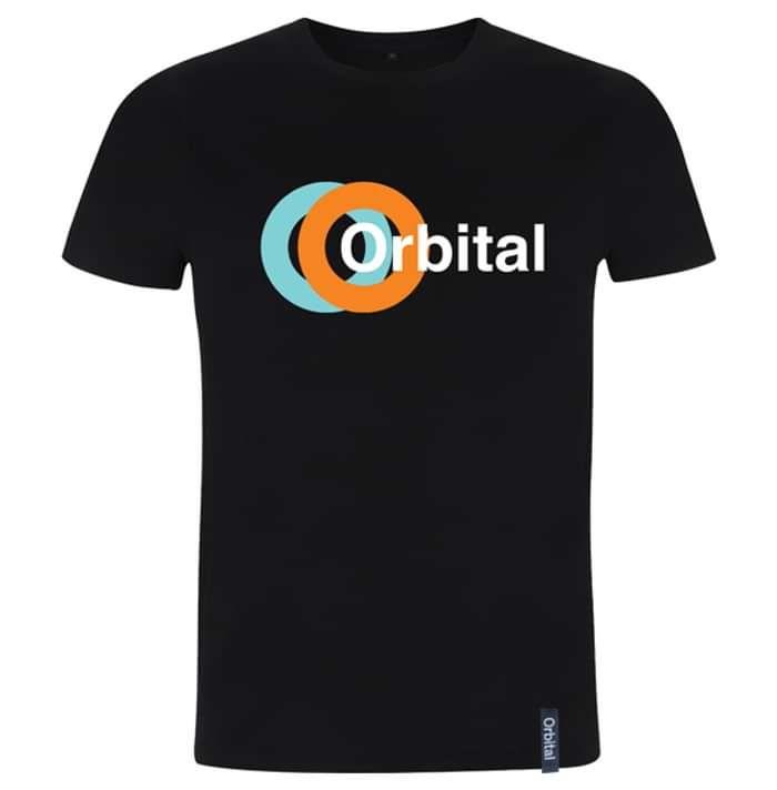 Orbital Black Kinetic Tee - Orbital