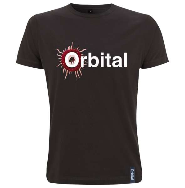 Orbital Black Monsters Exist Logo Tour Tee - Orbital