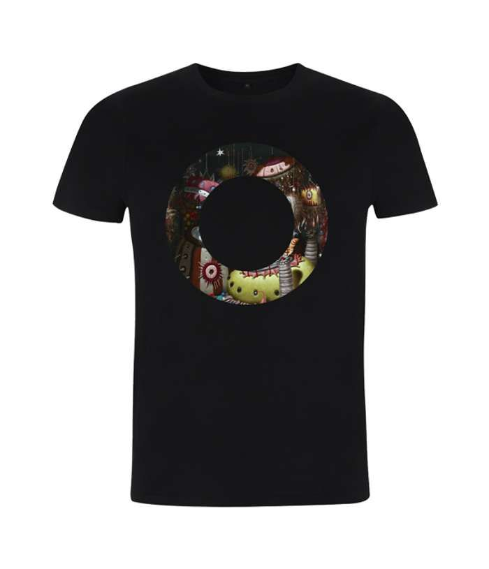 "Orbital Black Monsters Exist ""O"" Tee - Orbital"