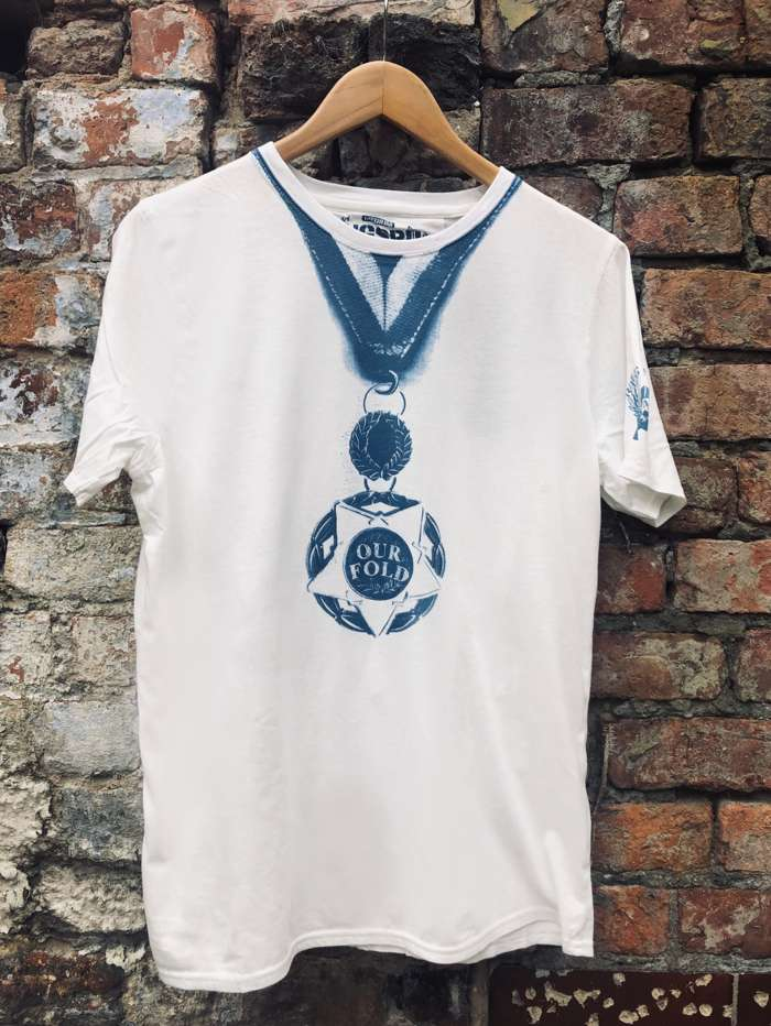 Unisex Our Fold Medal T - Our Fold