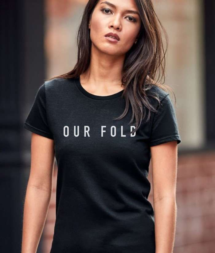 Womans Our Fold Logo T - Our Fold