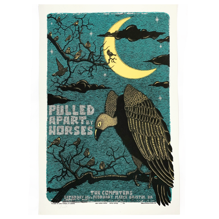 Bristol Fleece / Screenprint - Pulled Apart By Horses