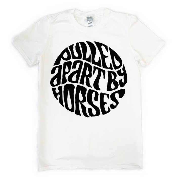 Logo / White - Pulled Apart By Horses