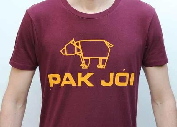 Pak Joi New Season - Claret Tshirt - Pak Joi