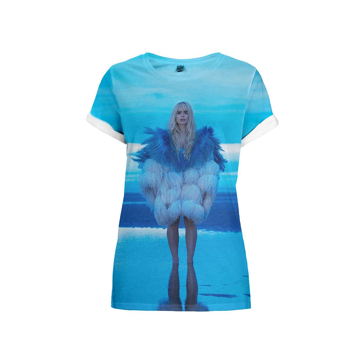 Feather Coat – Sublimation Tee - Paloma Faith