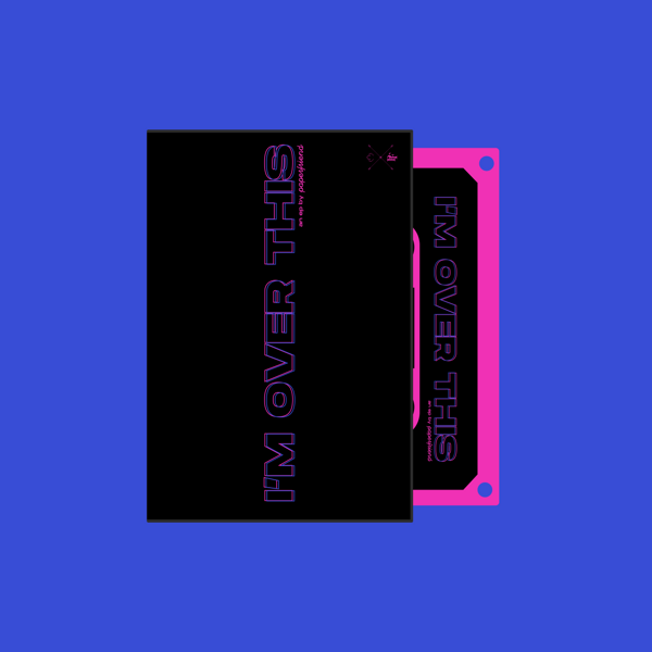 I'm Over This (cassette) + Gone t-shirt - Paperfriend