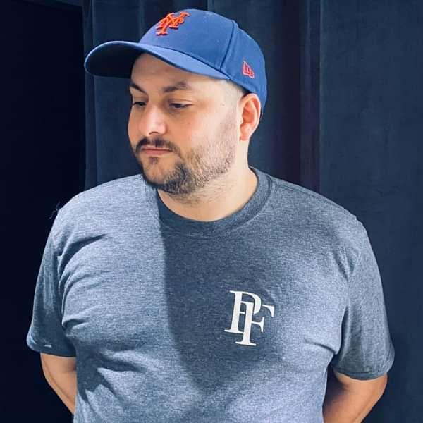 'PF' logo t-shirt - Paperfriend