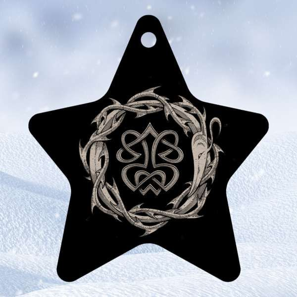 Paradise Lost - 'Star' Wooden Christmas Decoration - Paradise Lost US