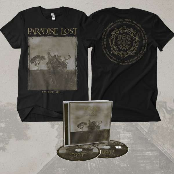 Paradise Lost - 'At The Mill' CD and BluRay Jewelcase + T-Shirt Bundle - Paradise Lost