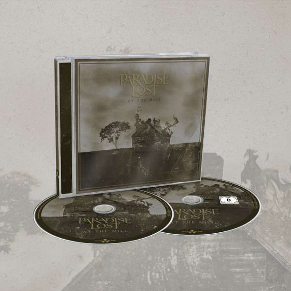 Paradise Lost - 'At The Mill' CD and BluRay Jewelcase - Paradise Lost