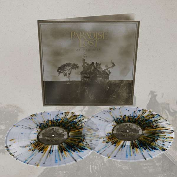 Paradise Lost - 'At The Mill' Clear + Black, Blue & Gold EXCLUSIVE Splatter 2LP - Paradise Lost