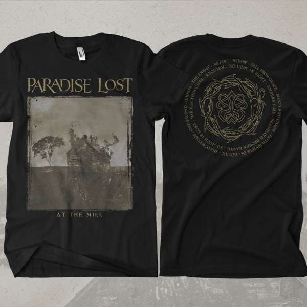 Paradise Lost - 'At The Mill' T-Shirt - Paradise Lost
