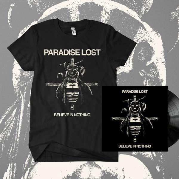 Paradise Lost - 'Believe In Nothing' Vinyl & T-Shirt Bundle - Paradise Lost