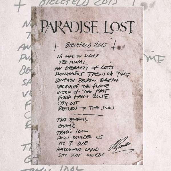 Paradise Lost -  Bielefeld Poster - Paradise Lost