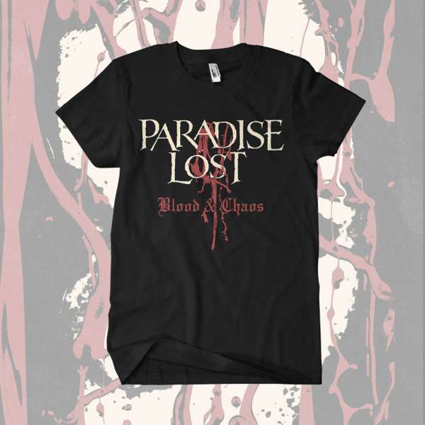 Paradise Lost - 'Blood and Chaos' T-Shirt - Paradise Lost