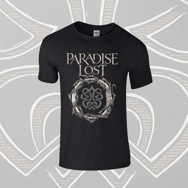Paradise Lost - 'Crown of Thorns' Kids T-Shirt - Paradise Lost