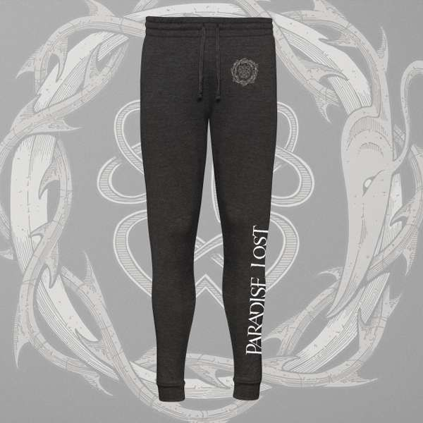 Paradise Lost - 'Crown of Thorns' Tapered Track Pants - Paradise Lost