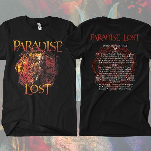 Paradise Lost - 'Draconian Times - Summer '95 (Revisited)' T-Shirt - Paradise Lost