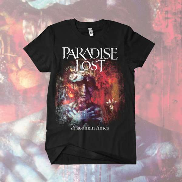 Paradise Lost - 'Draconian Times' T-Shirt - Paradise Lost