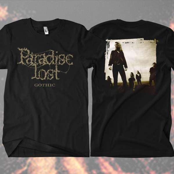Paradise Lost - 'Gothic Band' T-Shirt - Paradise Lost