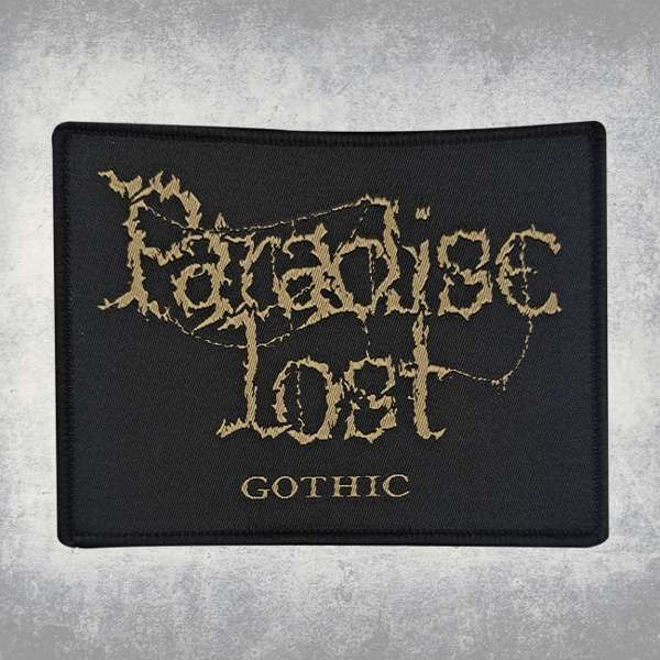Paradise Lost - 'Gothic' Woven Patch - Paradise Lost