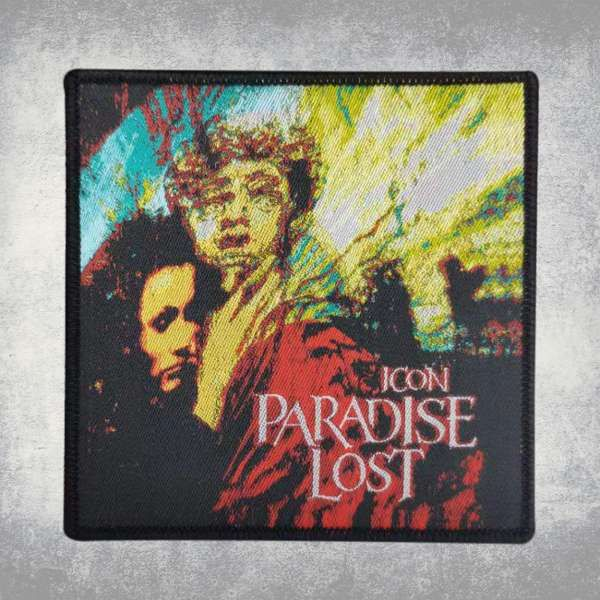 Paradise Lost - 'Icon' Woven Patch - Paradise Lost